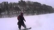 華麗に滑るノンケデブさんのスノーボードを見る!