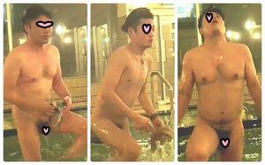 本物ノンケ動画 銭湯の男湯を観察しちゃいました!好みの太系ノンケは見つかるか!
