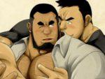 【デブコミック】ノンケ部長が部下に男の味を教え込まれる話。脂肪の乗ったガチデブ上司のチ○ポを咥え込み…