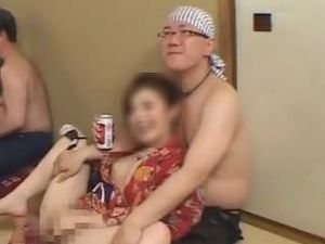 【ノンケデブ動画】ノンケデブ男優3人がエロい合コンを開催!