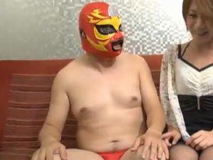 ノンケデブ動画 本物の風俗でノンケのドリチンさんがM性感マッサージを受ける!