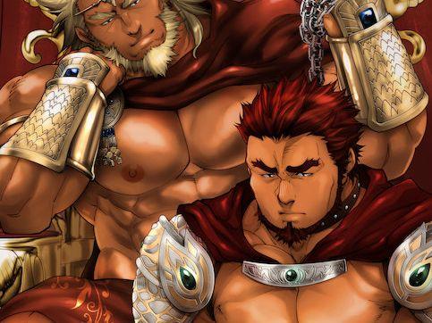 【ガチ系エロ小説】隆々と鍛え上げた肉体を持つ騎士団長は屈強な国王の夜の相手だった。
