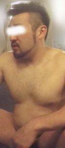 【本物ノンケ動画】むっちり体型の髭熊オヤジが銭湯で体を洗うシーンをどうぞ!【GW期間限定】