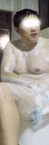 【本物ノンケ動画】過去にスポーツをやっていたようなガチポ男子の銭湯での姿を見てみる!【期間限定】