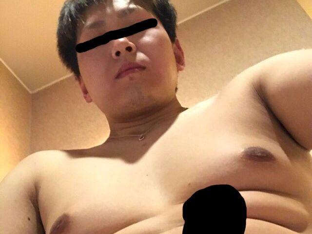 【本物ノンケ動画】ぽっちゃり男子の全裸オナニーを見てみる!
