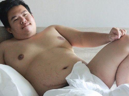 【デブ画像】かわいい若デブ男子の全裸画像をどうぞ!