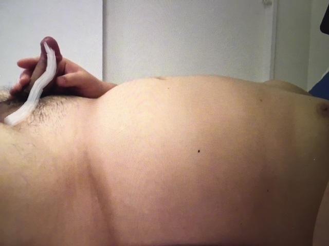 【本物ノンケ動画】23歳の現役実業団相撲選手がスマホ片手にオナニーに没頭!