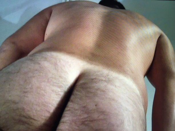 【本物ノンケ動画】ガチムチ元砲丸投げ選手の全裸スタンディングオナニー!