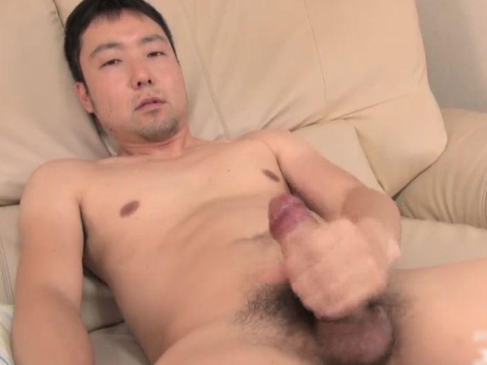 【無修正ノンケ動画】優しそうな顔の日本男子の全裸オナニー!