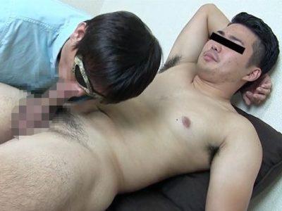 ノンケの陸上部男子が丸裸にされて高速手コキで濃厚ザーメンを放出!