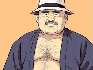 【デブコミック】人気シリーズ「くの湯 十五発め」ふんどし親父が登場!