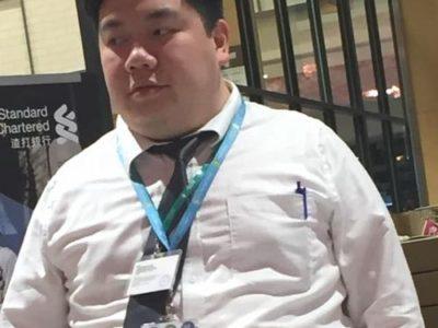 【デブ画像】頑張るノンケのデブリーマン!ご飯いっぱい食べてね!