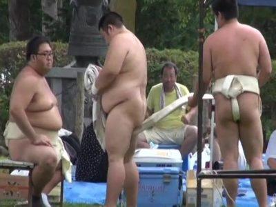 【本物ノンケ動画】学生相撲部のあかんシーン④学生相撲部まわし締め込み