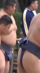 【本物ノンケ動画】セクシーな相撲部②学生部員の弾ける肉体!