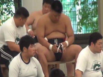 【本物ノンケ動画】あかんくはない相撲部⑥試合前の相撲部員!