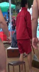 【本物ノンケ動画】セクシーな相撲部①まわし姿の学生と社会人!