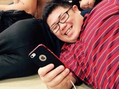 【デブ画像】笑顔がキュートなノンケデブ男子は相撲部員!