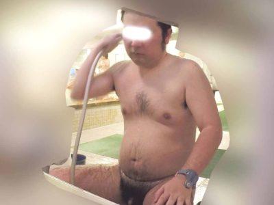 【本物ノンケ動画】新作!30代後半の毛深いノンケお兄さんが風呂で身体を洗う姿!