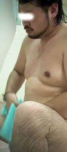 【本物ノンケ動画】太めノンケ男たちの銭湯での全裸姿を盗撮!【新シリーズ】