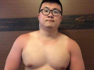 【若デブ画像】メガネを掛けたかわいいガチデブ男子!愛嬌たっぷり♪(画像追加)