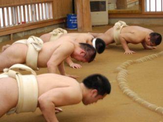 学生相撲部員